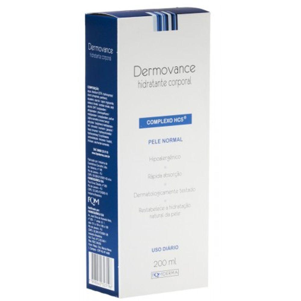DERMOVANCE-HID.CORP.200ML