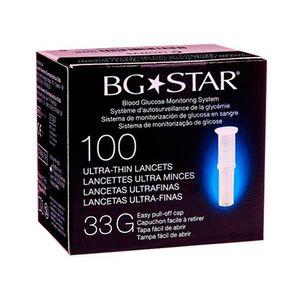 BGSTAR-LANCETAS-33G-100UN