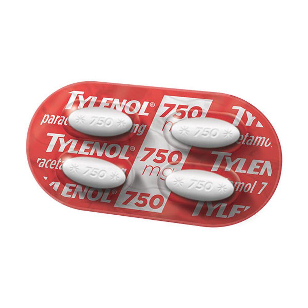 TYLENOL-750-BLIS.4CPR--MIP-