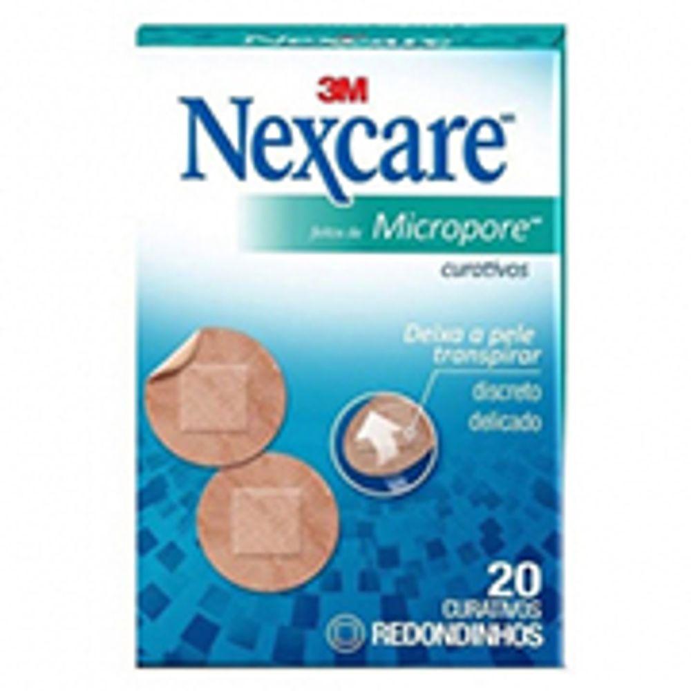3M-CUR.NEXCARE-MICROPORE-REDONDO-C-20