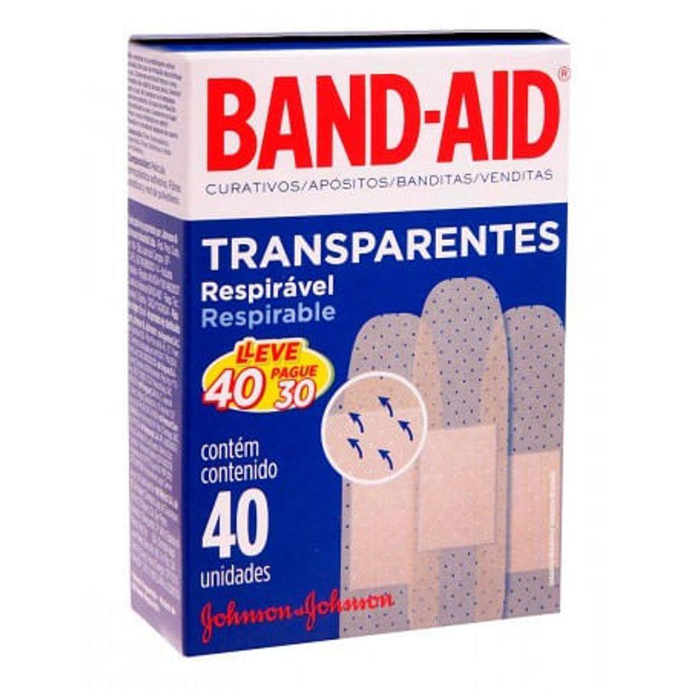 BAND-AID-TRANSP.L40P30
