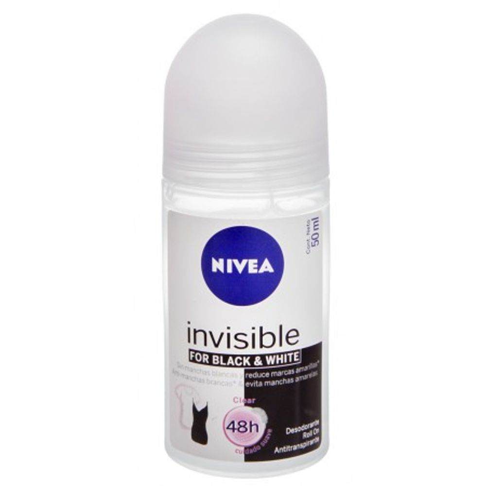 NIVEA-ROL.FEM-INVISIBLE-B-W-CLEAR-50ML