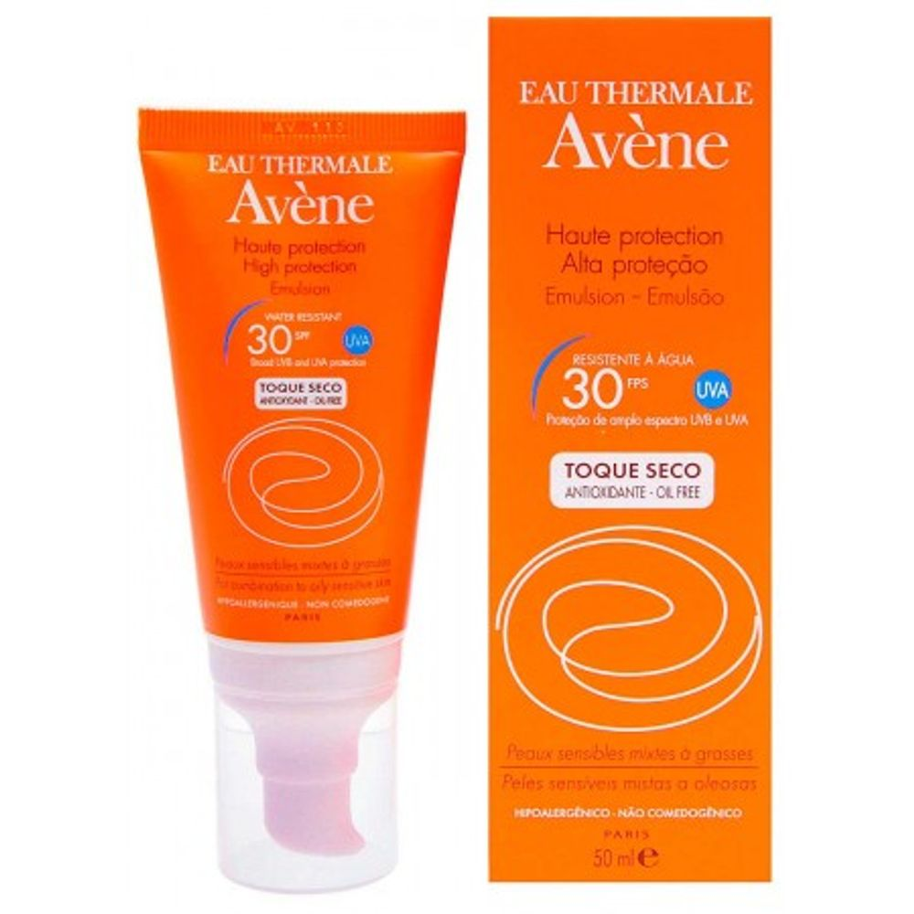 AVENE-SOLAR-TOQUE-SECO-FPS30-50ML