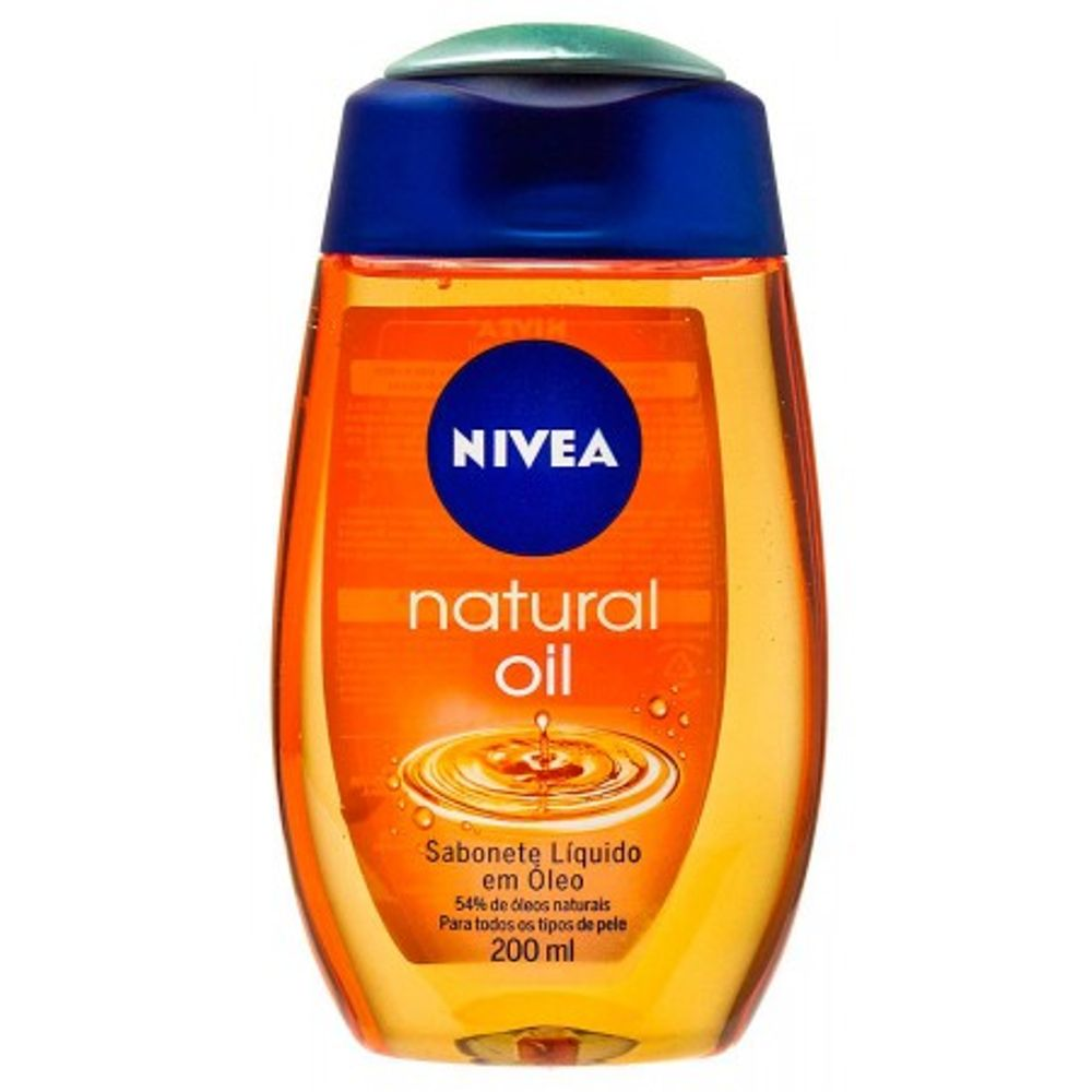 NIVEA-SAB.LIQ.NATURAL-OIL-200ML