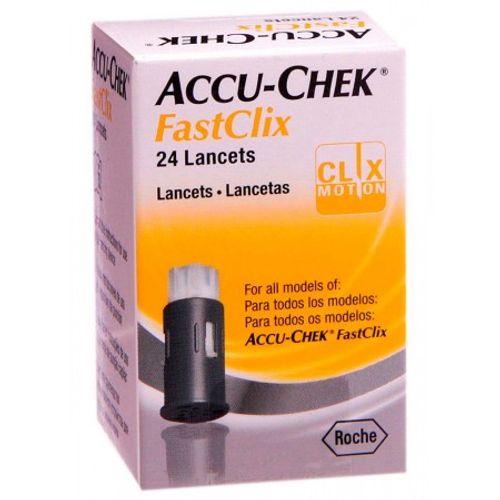 ACCUCHEK-FASTCLIX-LANCETA-C-24-UND