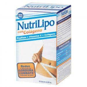 NUTRILIPO-PSYLLIUM-600MG-60CPS