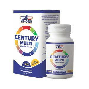 Vit-Gold-Century-100-Comprimidos