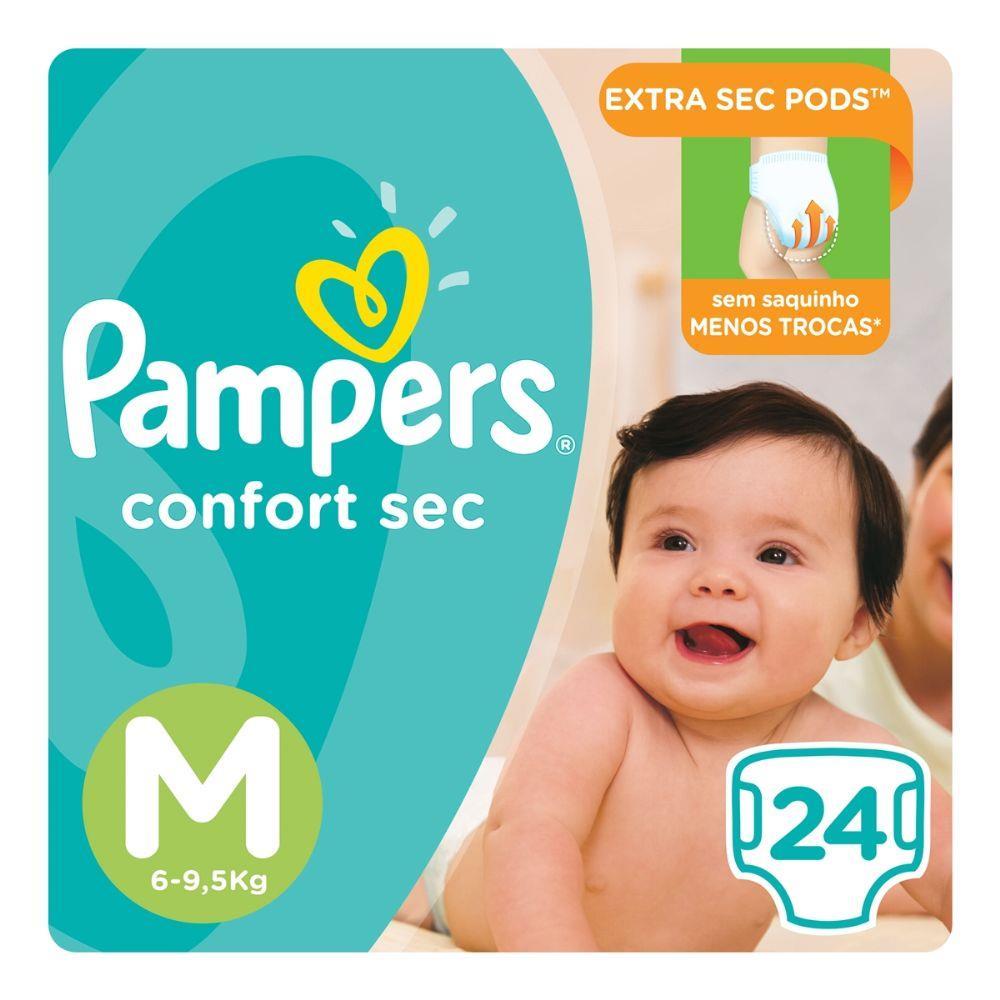 Fralda-Pampers-Confort-Sec-Tamanho-Medio-Com-24-Unidades-