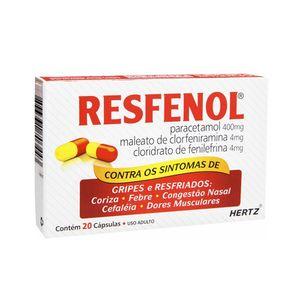 Resfenol-400Mg---4Mg---4Mg-Com-20-Capsulas-