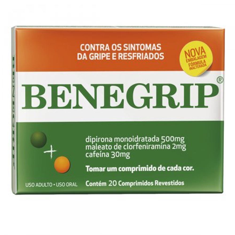 Benegrip-500---30---2Mg-Caixa-Com-20-Comprimidos-Revestidos