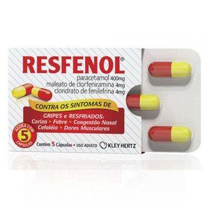 Blister-Resfenol-5-Capsulas