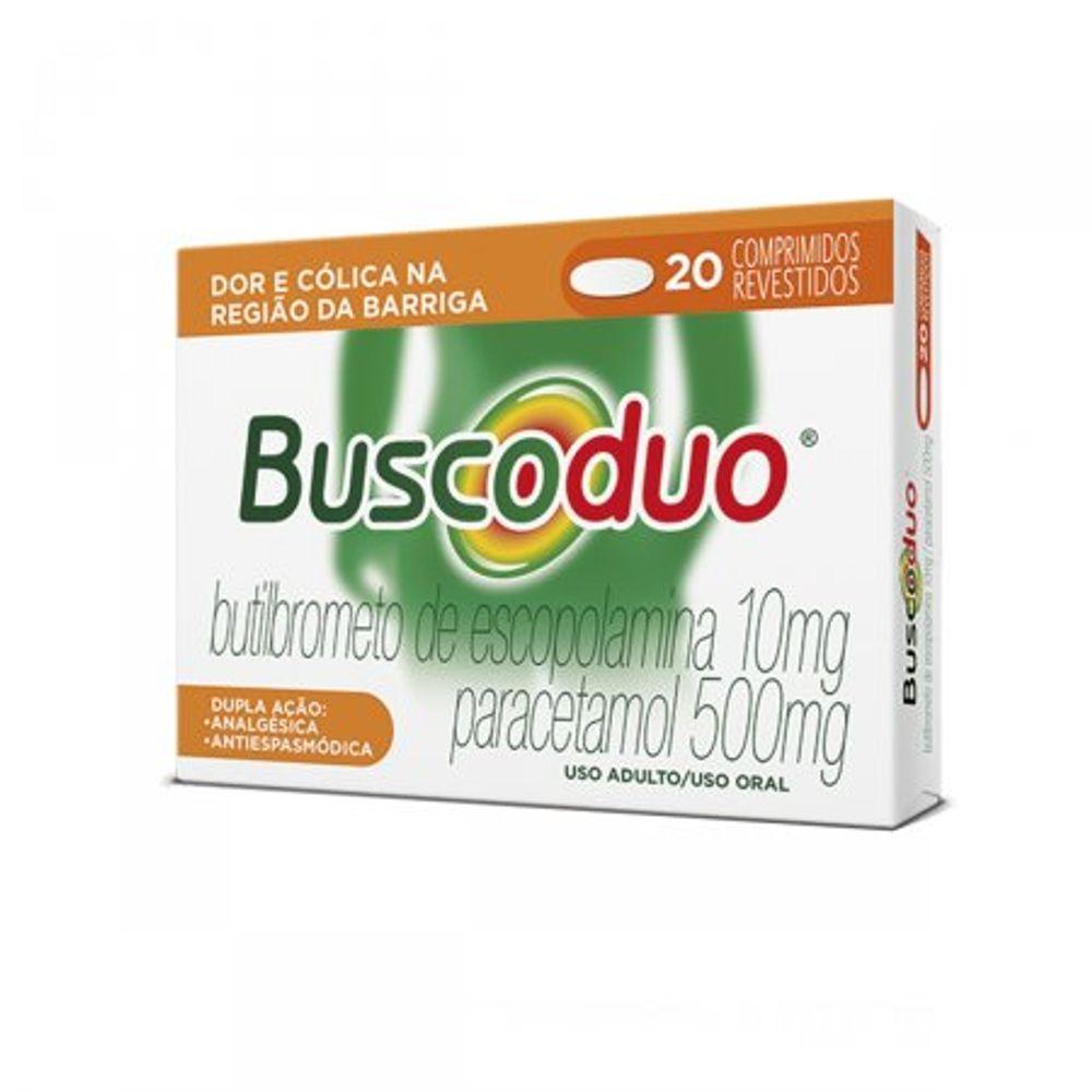 Buscoduo-10---500Mg-Caixa-Com-20-Comprimidos-Revestidos