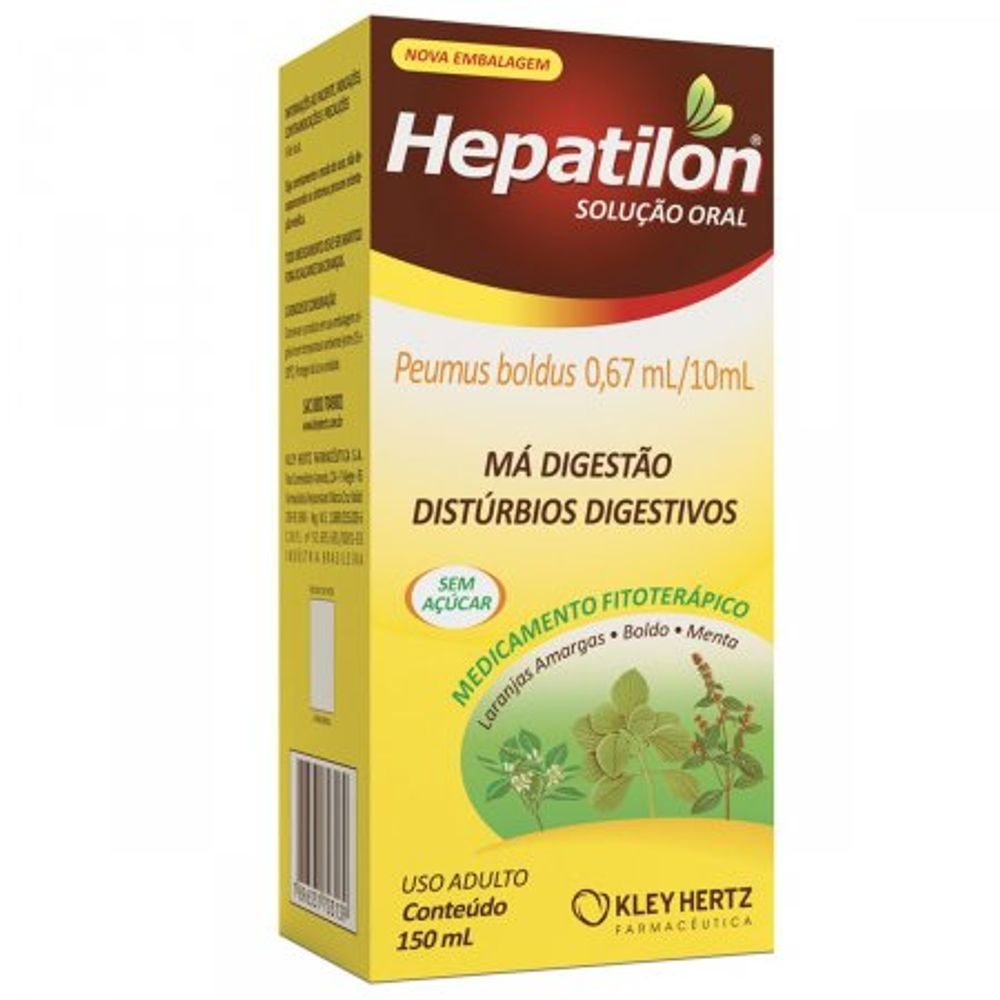 Hepatilon-150Ml-Hertz
