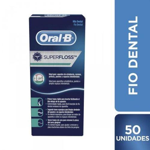 Fio-Dental-Oral-B-Super-Floss-Ideal-Para-Aparelhos-Ortodonticos-Pontes-E-Amplos-Espaco-Interdentais-Contem-50-Unidades