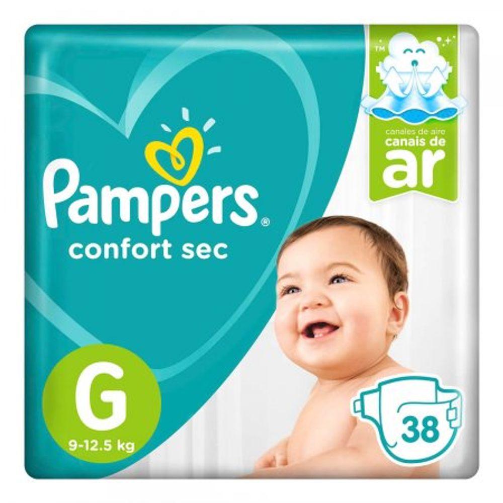 Fralda-Descartavel-Pampers-Confort-Sec-Tamanho-G-38-Unidades