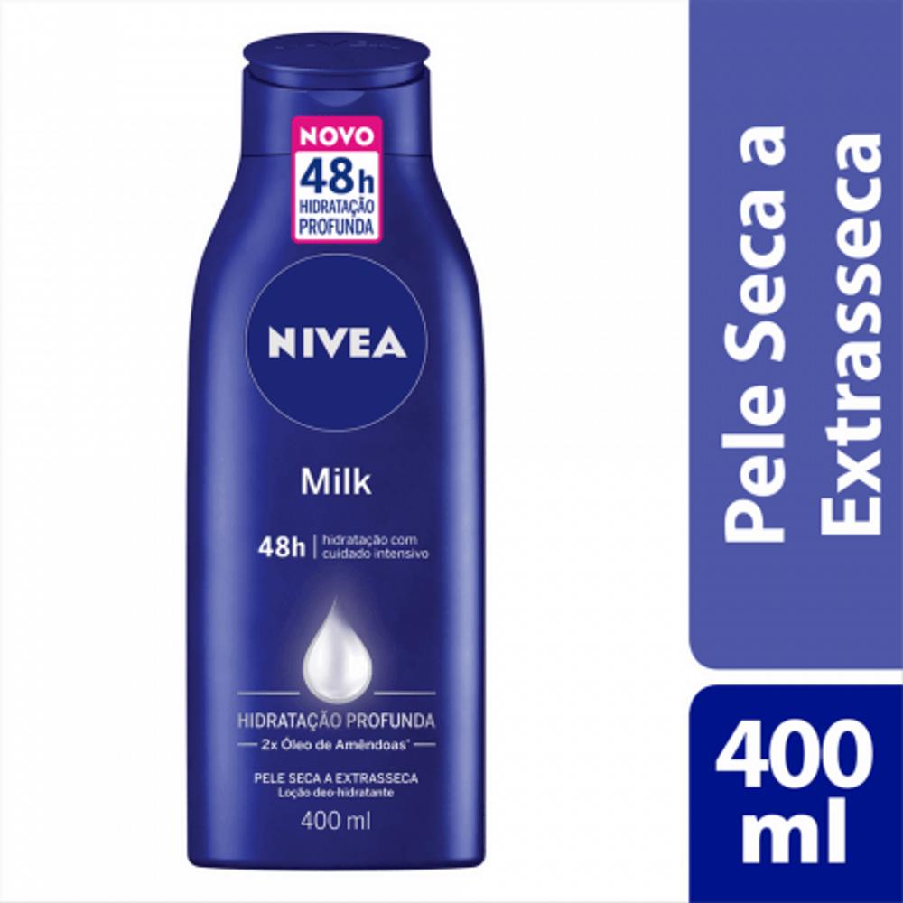 Locao-Hidratante-Nivea-Milk-400Ml