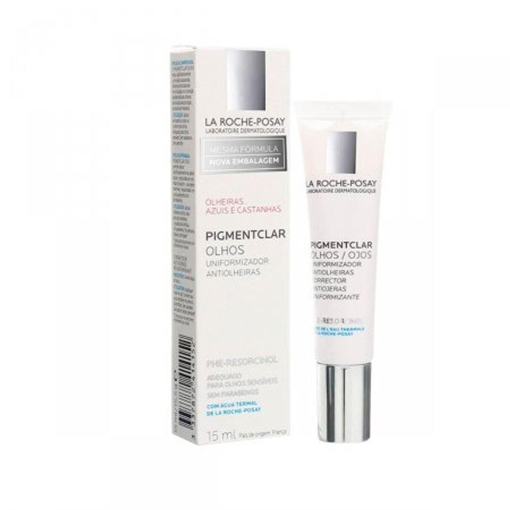 Antiolheiras-Pigmentclar-Olhos-La-Roche-Posay-Com-15Ml