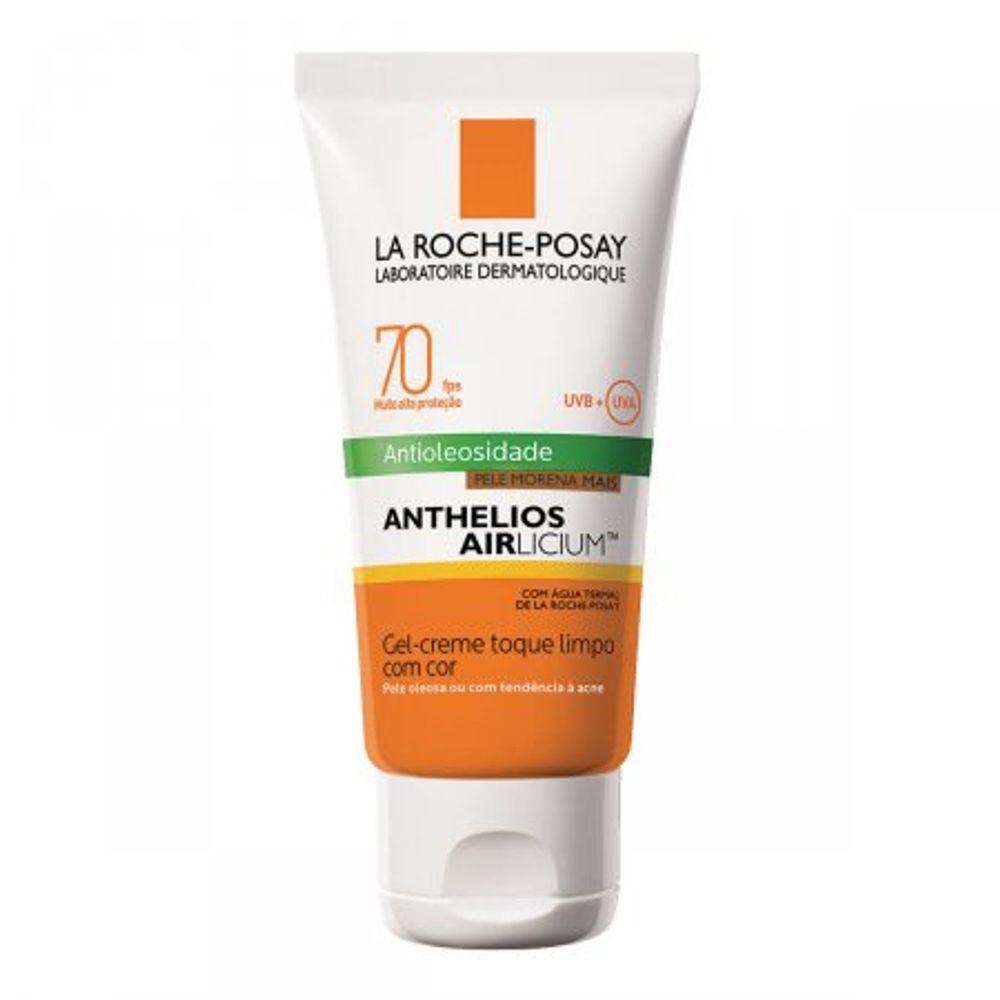 Protetor-Solar-Facial-La-Roche-Posay-Anthelios-Airlicium-Fps70-Pele-Morena-Mais-50G