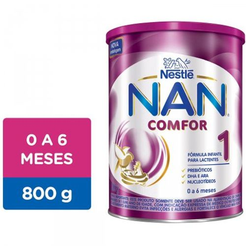 Nan-Comfor-1-Formula-Infantil-Para-Lactentes-De-0-A-6-Meses-Com-800G