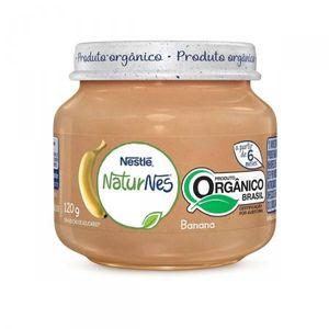 Papinha-Naturnes-Org.Banana-120G-Nestle