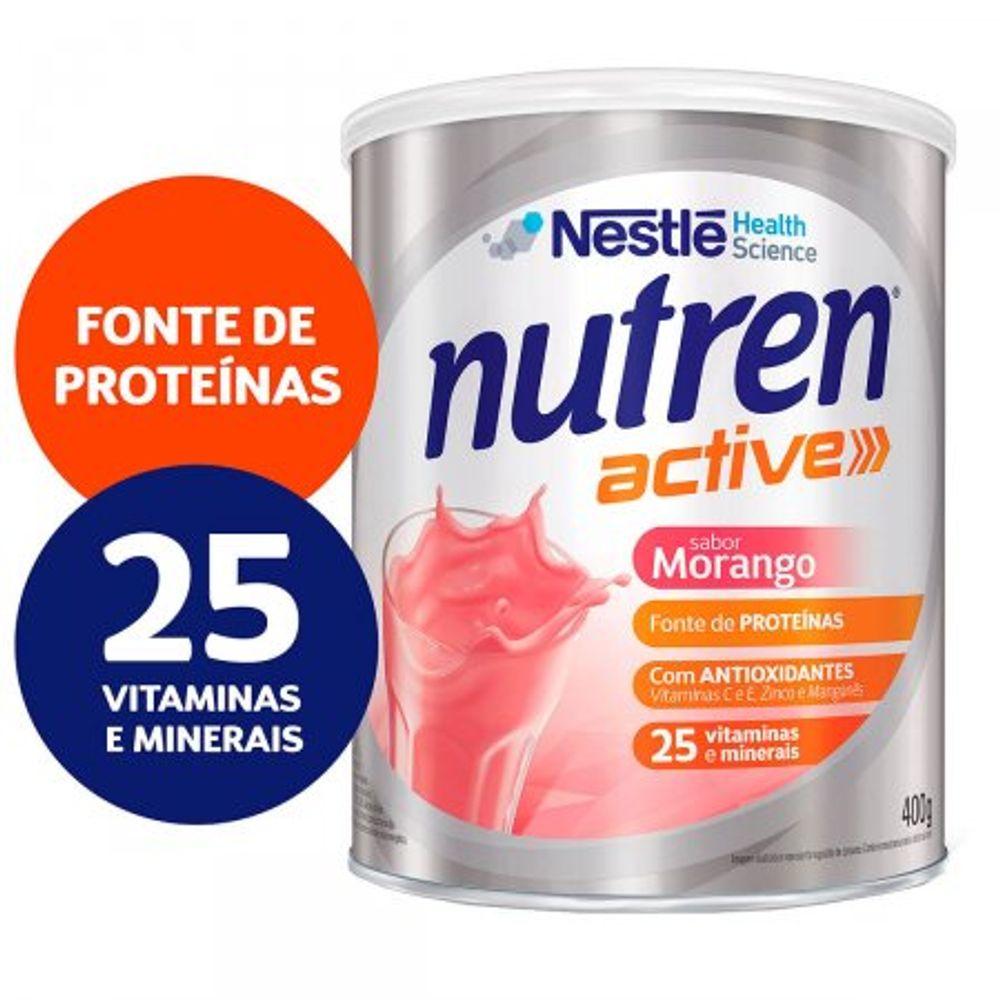 SKU-27193Complemento_Alimentar_Nutren_Active_Sabor_Morango