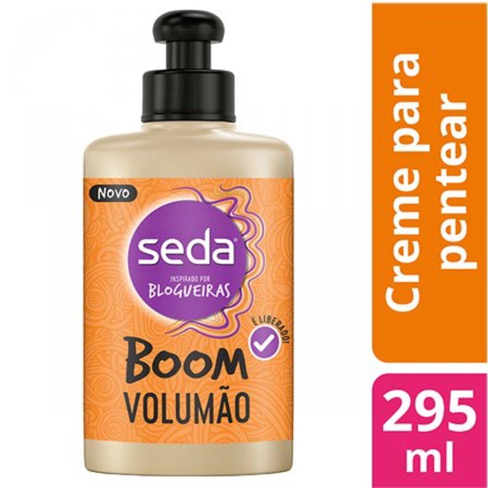 Creme-Para-Pentear-Seda-Boom-Volumao-295Ml