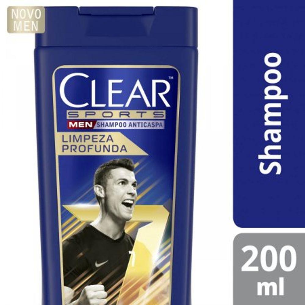 Shampoo-Anticaspa-Clear-Men-Limpeza-Profunda-Com-200Ml