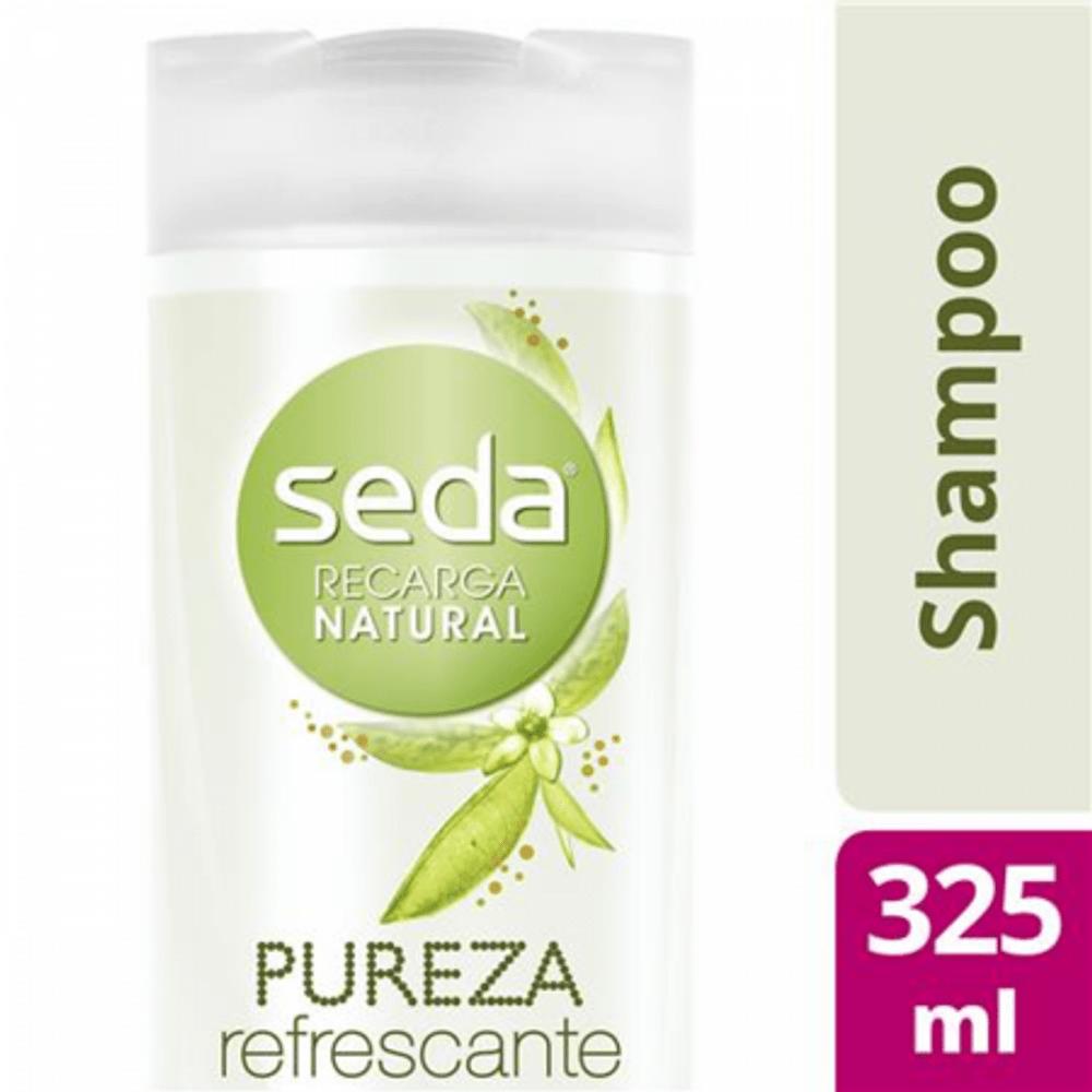 Shampoo-Seda-Recarga-Natural-Pureza-Refrescante-Com-325Ml