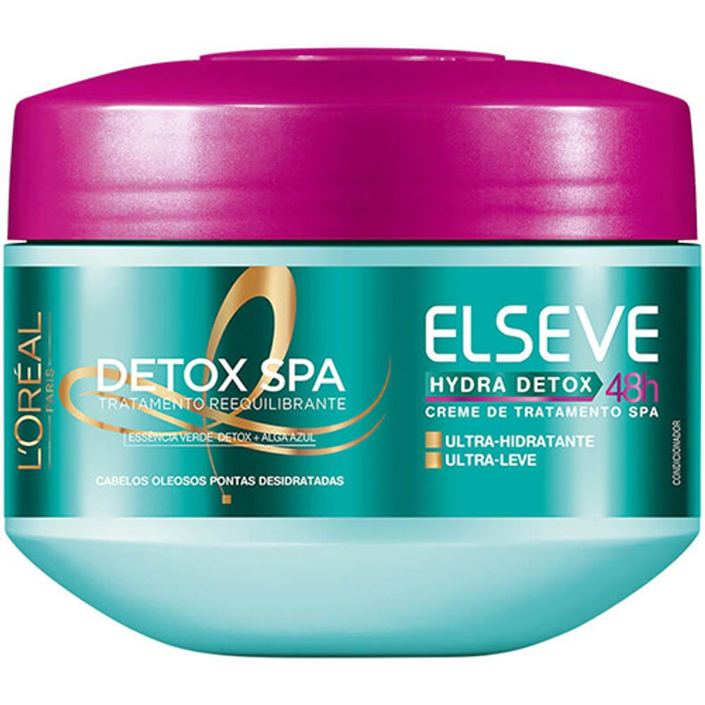SKU43272-ELSEVE_DETOX_ANTI_OLEOSIDADE_CR.TRAT.300ML