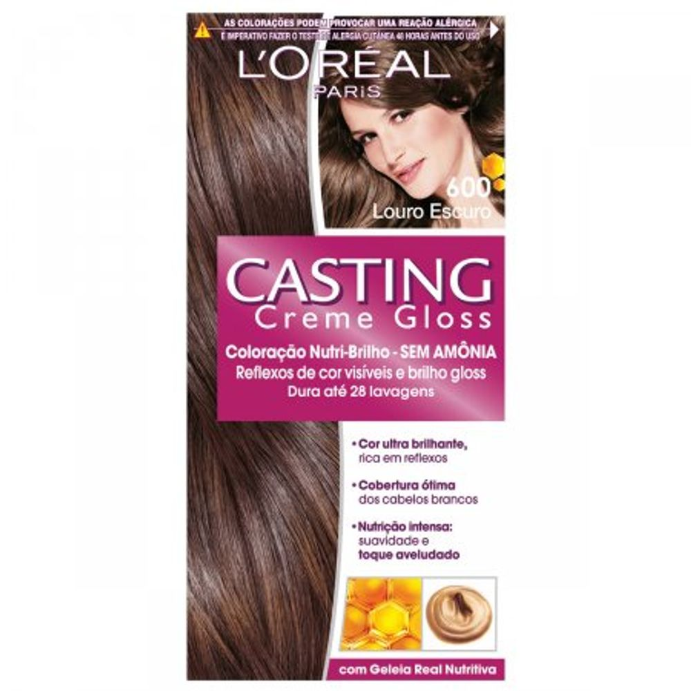 Tintura-Creme-Casting-Creme-Gloss-L-Oreal-Louro-Escuro-600--Oreal-Louro-Escuro-600-Kit