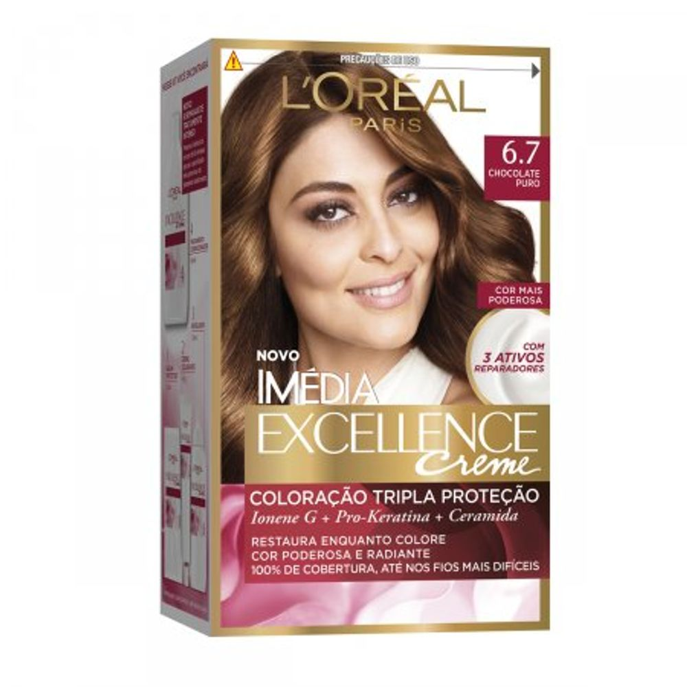 Tintura-Creme-Imedia-Excellence-L-Oreal-Chocolate-Puro-67--Oreal-Chocolate-Puro-67-Kit