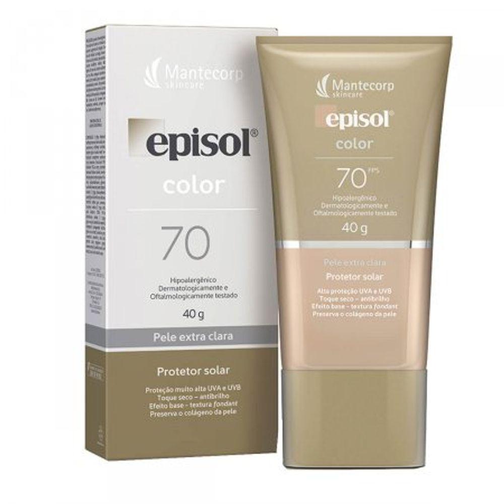 Protetor-Solar-Facial-Episol-Color-Pele-Extra-Clara-FPS70