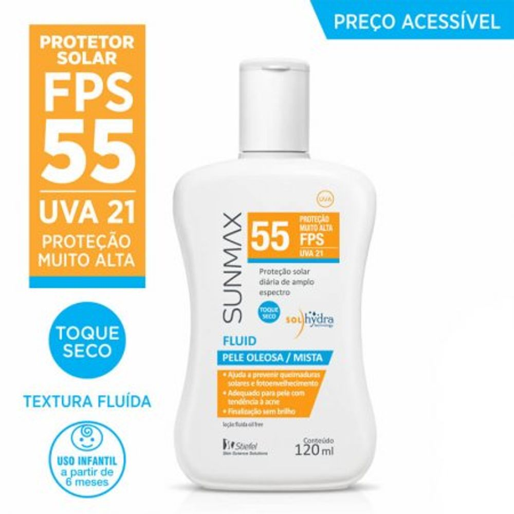 Protetor-Solar-Sunmax-Fluid-FPS55