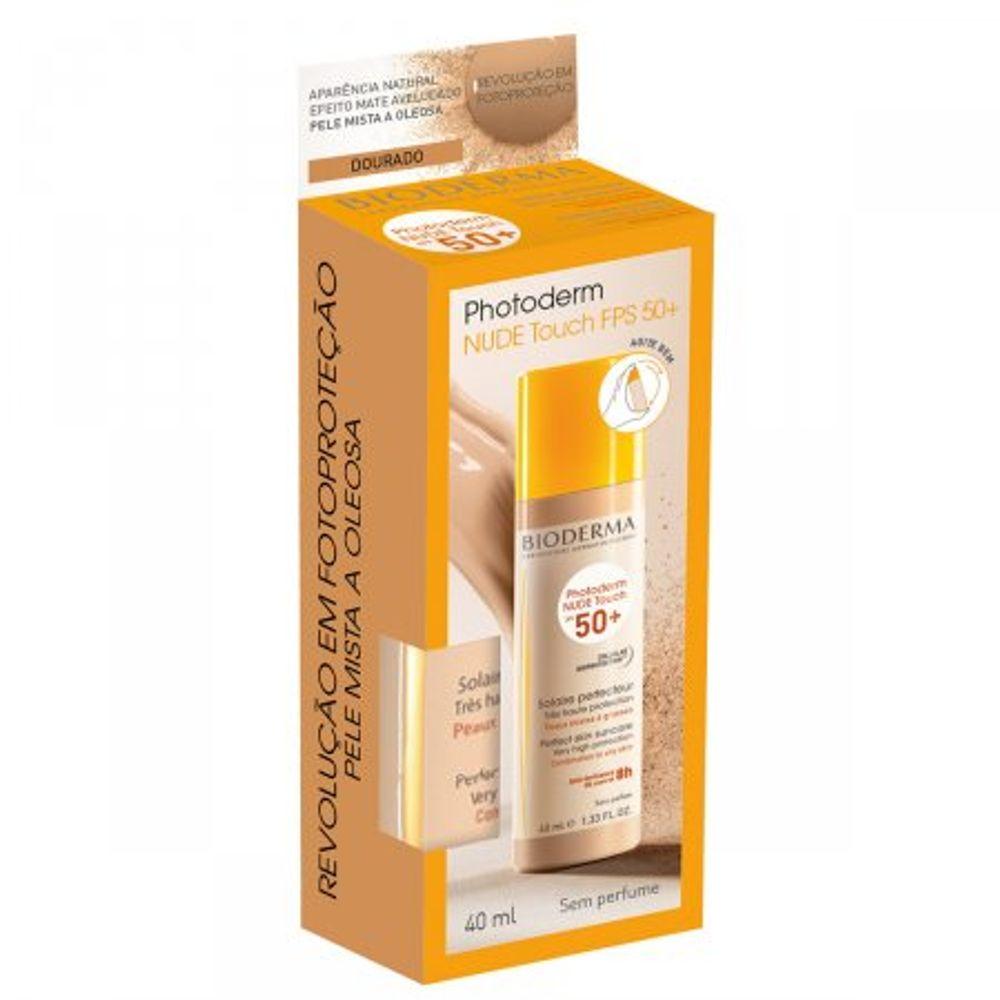 Protetor-Solar-Photoderm-Nude-Touch-FPS50-Cor-Dourado