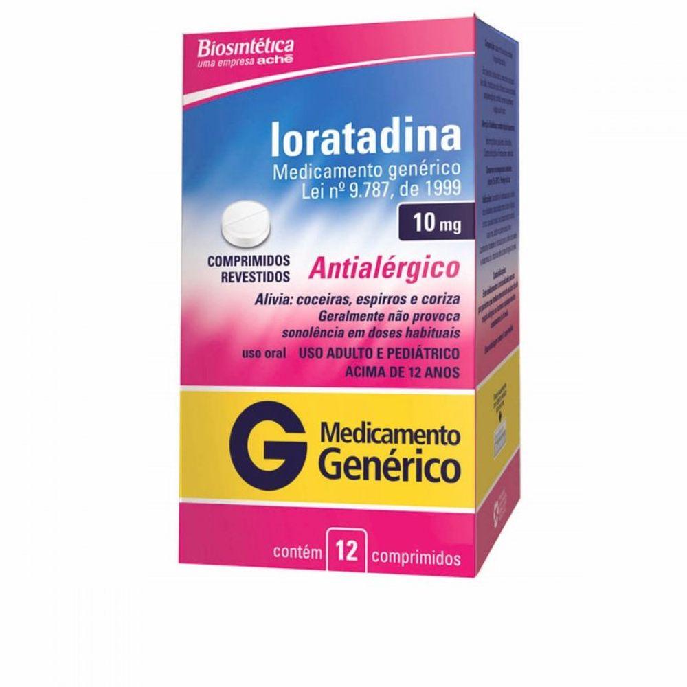 Loratadina---Biosintetica-10Mg-Caixa-Com-12-Comprimidos