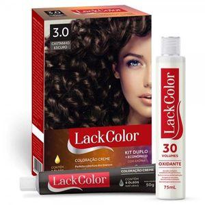 SKU51293-Tintura-Lack-Color-Kit-Creme-3.0-Castanho-Escuro