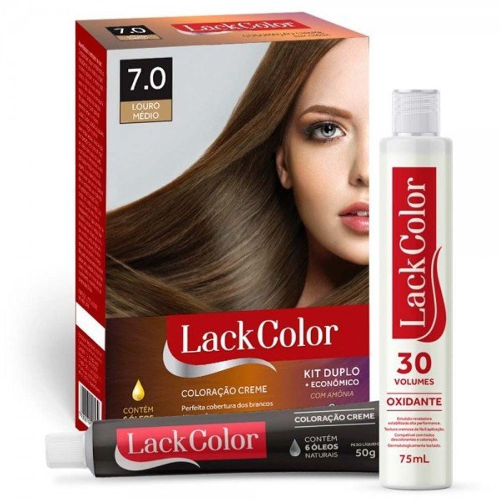 Tintura-Lack-Color-Kit-Creme-7.0-Louro-Medio