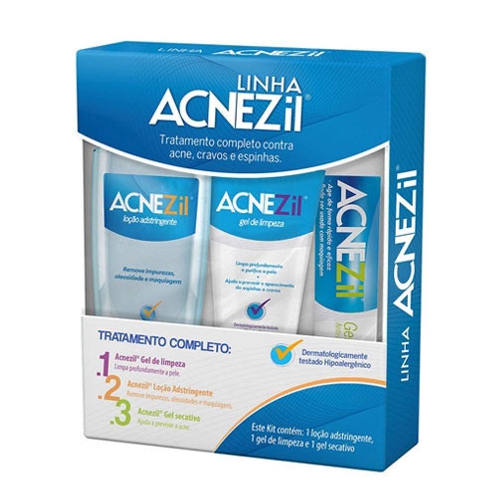 Acnezil-Kit-De-Tratamento-Completo-Com-Locao-Adstringente---Gel-De-Limpeza---Gel-Secativo