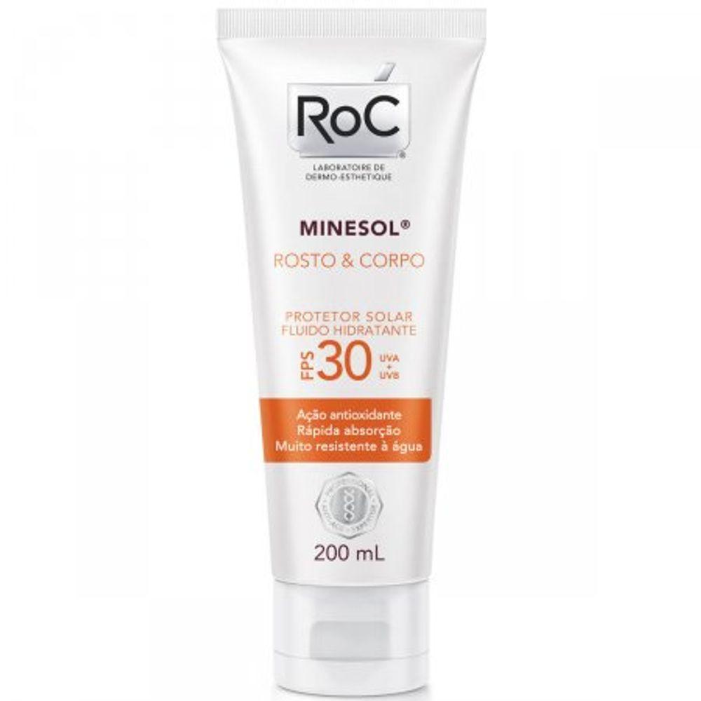 Protetor-Solar-Roc-Minesol-Corpo---Rosto-FPS30