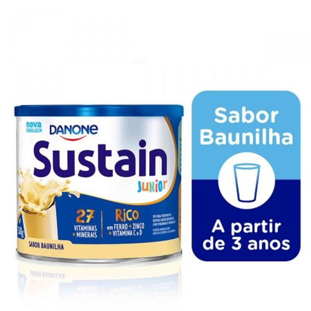 Complemento-Alimentar-Sustain-Junior-Sabor-Baunilha