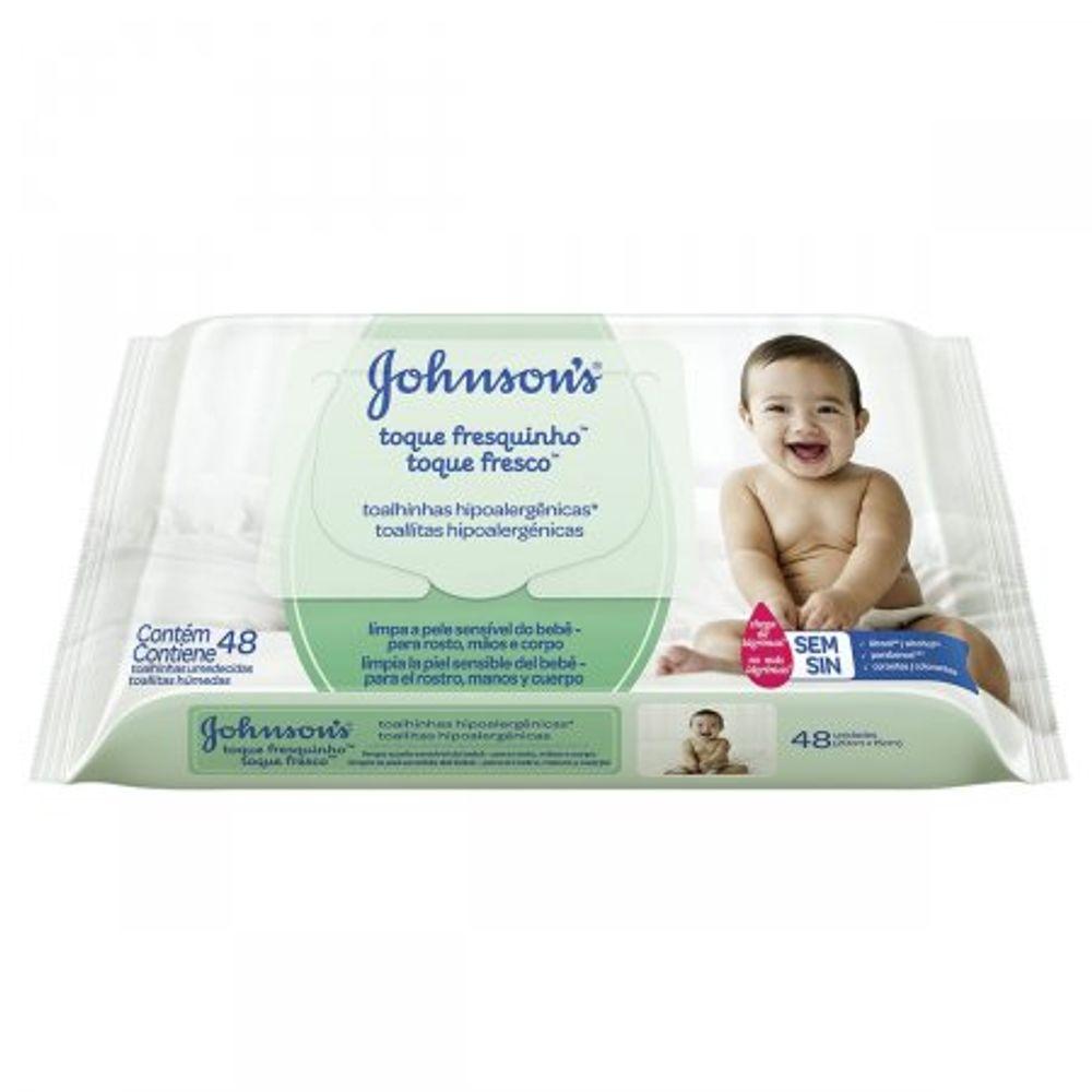 Lencos-Umedecidos-Johnsons-Baby-Toque-Fresquinho