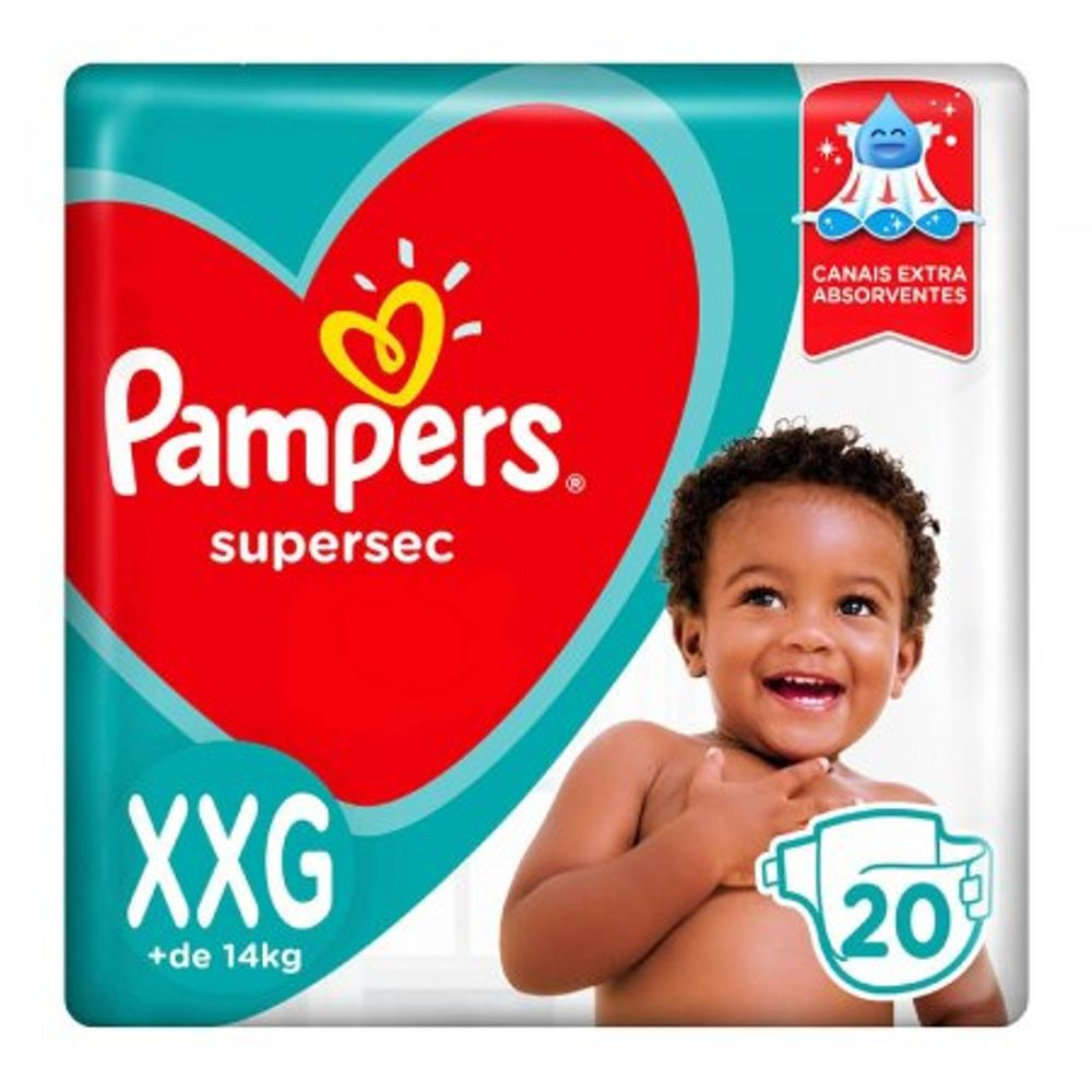 Fralda-Pampers-Supersec-XXG