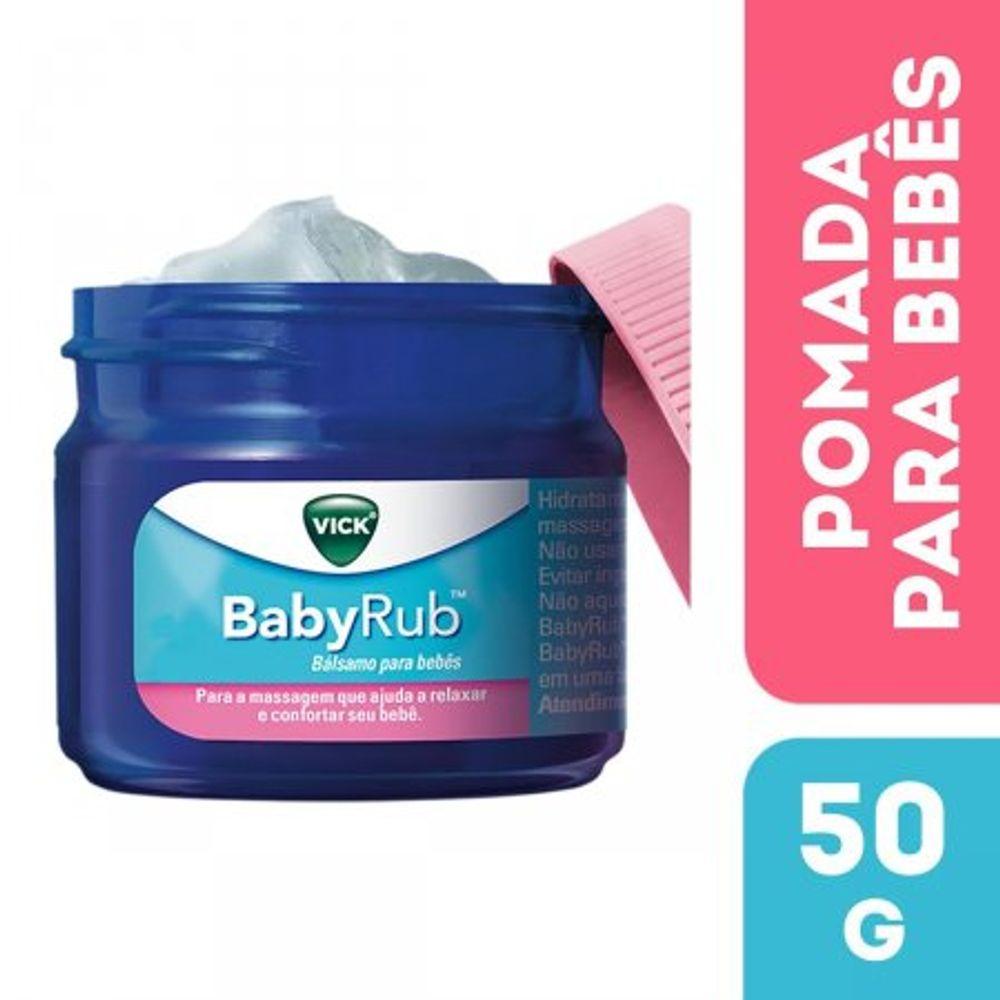 Pomada-Calmante-Vick-Babyrub-para-Bebes
