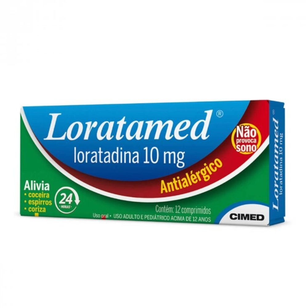 LORATAMED-10MG-12CPR-CIMED
