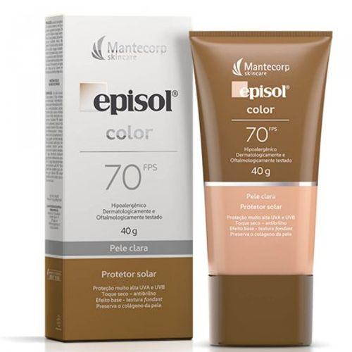 Protetor-Solar-Facial-Episol-Color-Pele-Clara-FPS70