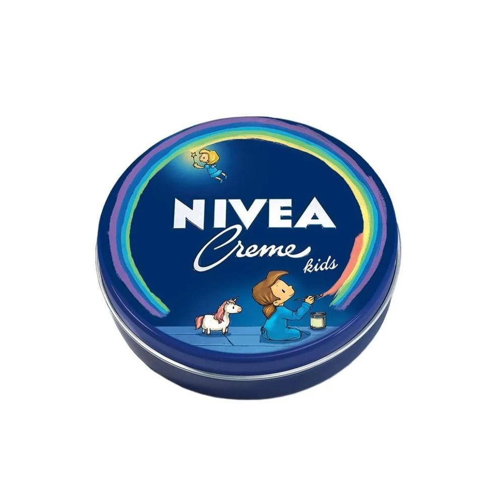 Creme-Hidratante-Facial-Nivea-Kids-Lata