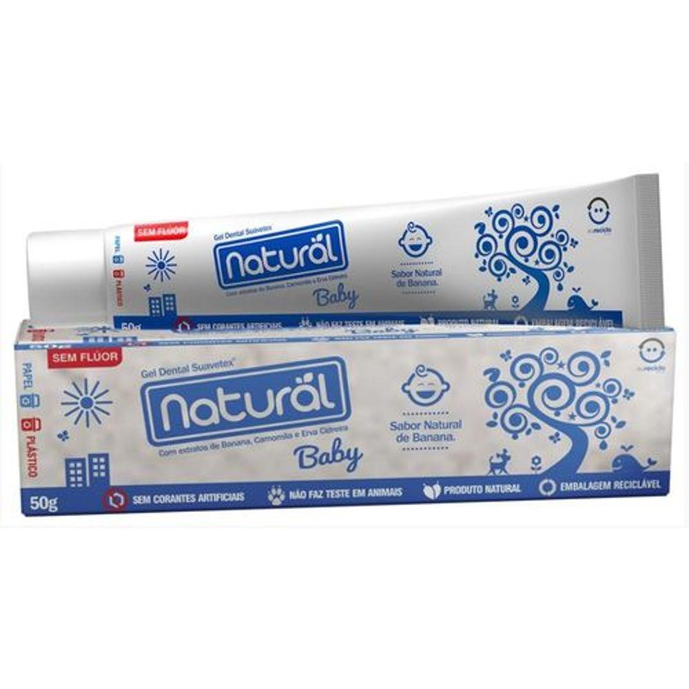 Gel-Dental-Natural-Baby-50g