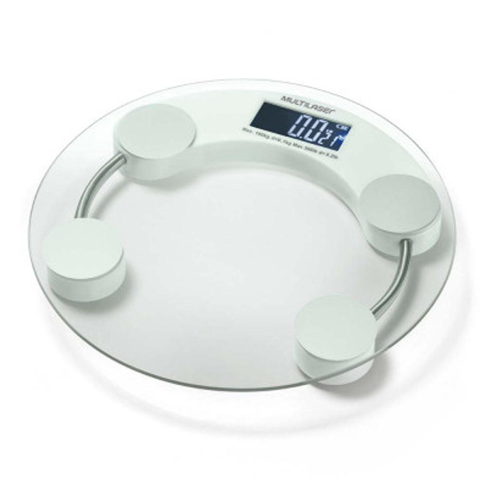 Balanca-Digital-Eatsmart-LCD-Multilaser-Branca-
