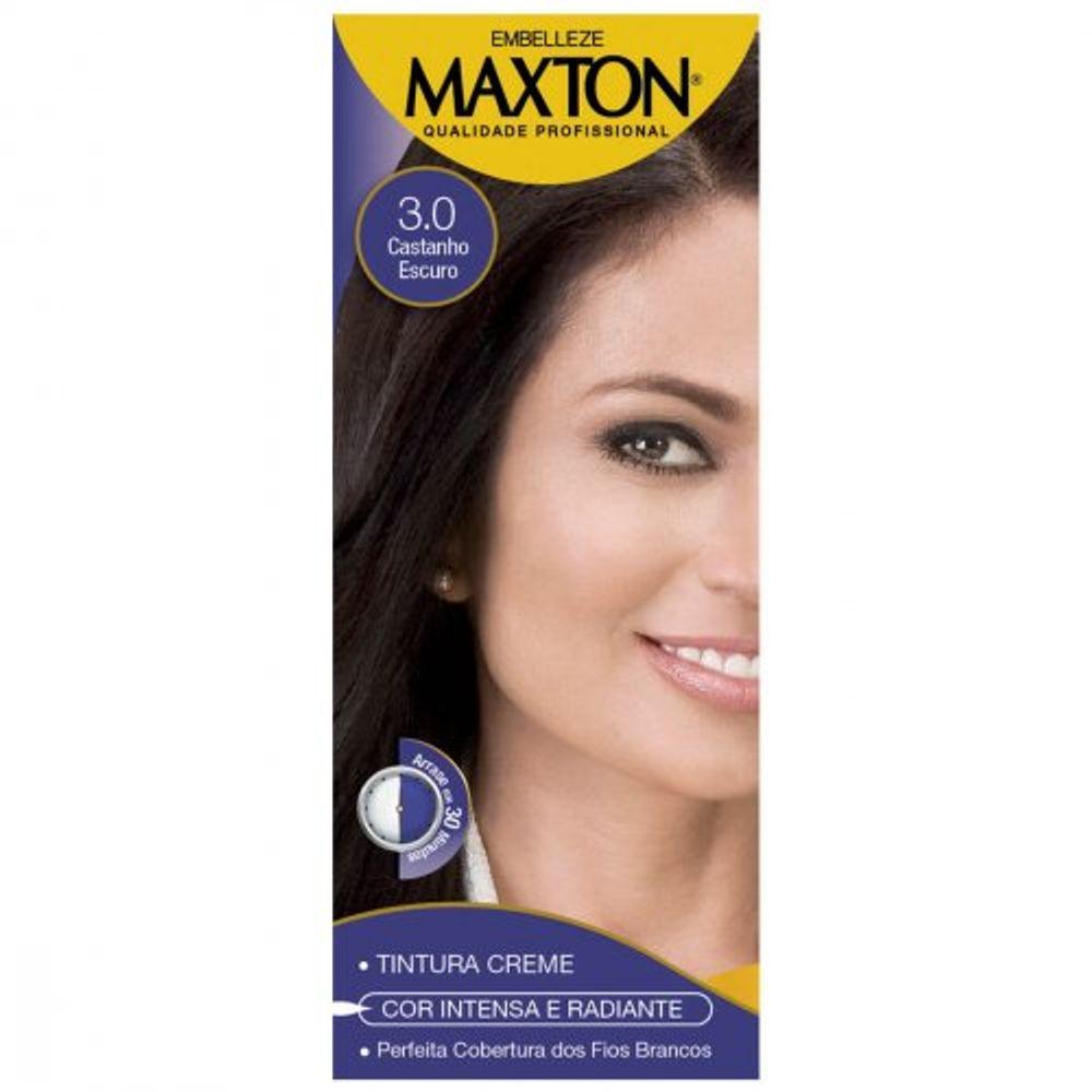 Kit-Pratico-Embelleze-Maxton-Coloracao-Creme-3.0-Castanho-Escuro