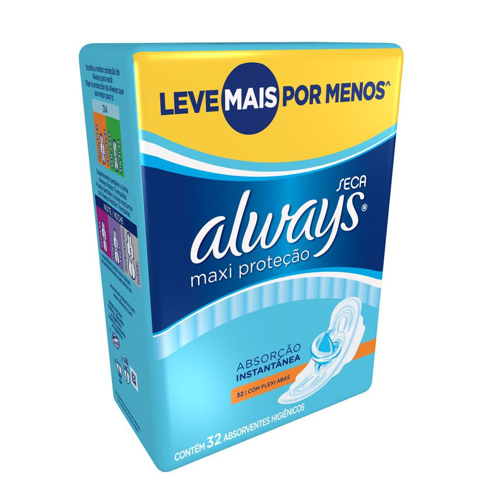 Absorvente-Always-Active-Protecao-Total-Com-abas-32-unidades